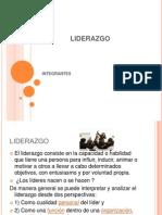 LIDERAZGO diapositivas