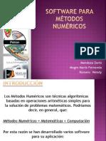Software Para Metodos Numericos