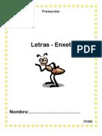 11455412 Hojas de Trabajo Letras Enxet Preescolar