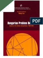 06. Andy Liu - Hungarian Problem Book III 1929-1943