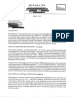 Alan R. Reich PhD Report for the State dated 9th May 2013 - Aural & Digital Acoustical Examination of two 911 Recordings