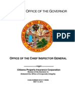 Florida Citizens Property Insurance review 5.13.13 - WMNF News