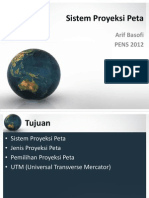 Sistem Proyeksi Peta