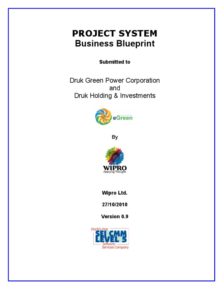 2 business blueprint ps 10updated one business process business flashek Gallery