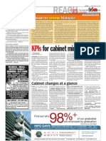TheSun 2009-04-10 Page02 KPIs for Cabinet Ministers