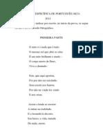 Prova Especifica Portugues 2012