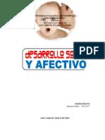 DESARROLLO SOCIAL Y AFECTIVO (MARTÍNEZ-UNESR)