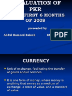 Devaluation of Pakistan Rupee