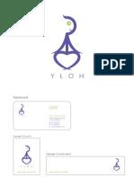 YLOH Yoga Logo