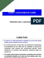 Tema 2.18 - Cobre y Aleaciones de Cobre