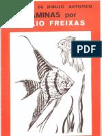 Láminas Emilio Freixas - Serie 33 (Peces y flora acuática)