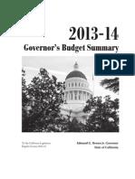 Full Budget Summary California