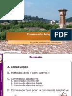 01 - Commande Adaptative ENSAM_2011