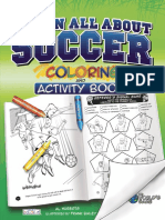 Learn All About Soccer - Activity Book Sample Pages