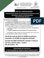 BOLETIM CONVOCAÇÃO CONGRESSO FITES