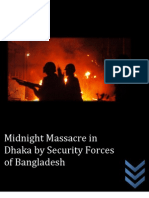 Midnight Massacre by Security Forces of Bangladesh 2013