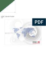 HSBC Saleskit Folder