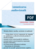 010. Comunicare audiovizual-â - curs 3