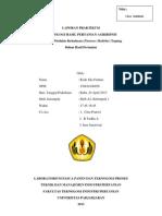 Laporan Praktikum 6 THP