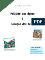 Poluição água e solo