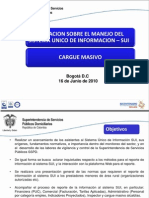 PRESENTACION  CARGUE MASIVO