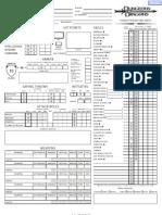 D&D 3.5 Edition Interactive Character Sheet