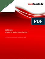 Methode Pour Gagner en Bourse Isiotrade