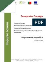 Regulamento Passaportes Emprego v 2013-03-27