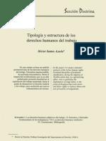 Tipologia y Estructura de Los Derecho Humanos de Trabajo