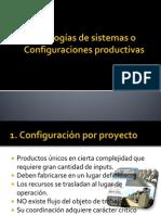1.2 Tipologías de sistemas o Configuraciones productivas
