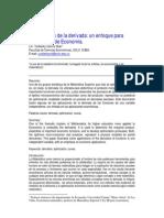 Aplicacion de Derivadas a Las Empresas[1]