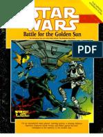 WEG40017 - Star Wars D6 - Battle for the Golden Sun
