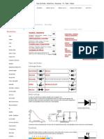 Tipos de Diodos - Electrónica - Esquemas - TV - Áudio - Digital