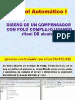 Compensador Con Polo Complejo-rltool-sisotool