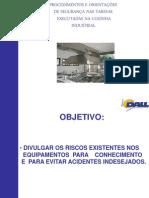 Cozinha Industrial- Procedimentos