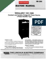 Idealarc Dc 1500