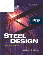 108377636 Segui Steel Design 4th Edition Solutions