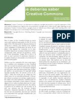 7 Cosad Que Debes Saber Acerca de Creative Commons