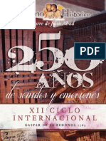 Organo Historico 2013