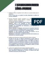 EJERCICIOS DE SISTEMATIZACIÓN DEL PROCESO ENSEÑANZA - APRENDIZAJE