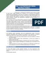 TÉCNICAS Y ESTRATEGIAS PARA INSTRUCTORES
