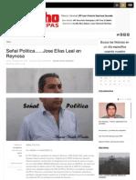 14-02-2013 Señal Politica......Jose Elias Leal en Reynosa