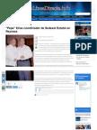 16-02-2013 Reconocen calidad politica de José Elías Leal