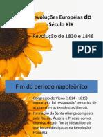 Revoluções liberais séc XIX (1)