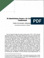 57522392.Fernández Albaladejo El Absolutismo frente a la Constitución Tradicional