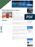 17-03-2013 Solicita José Elías Leal su renuncia