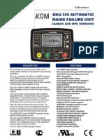 Datakom 309 Manual
