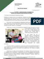 13/05/13 Germán Tenorio Vasconcelos OBESIDAD, ESTRÉS Y SEDENTARISMO, INCREMENTAN RIESGO DE PADECER HIPERTENSIÓN ARTERIAL