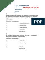 Act 1Revisión de presaberesINTRODUCCION A LA PROGRAMACION