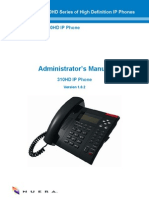 LTRT-13801 310HD IP Phone Administrator's Manual v1.0.2